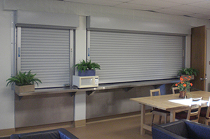 counter service door at a hospital ... & Counter Service Commercial Doors - Commercial Doors Direct pezcame.com