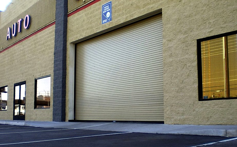 Weather edge commercial door facility